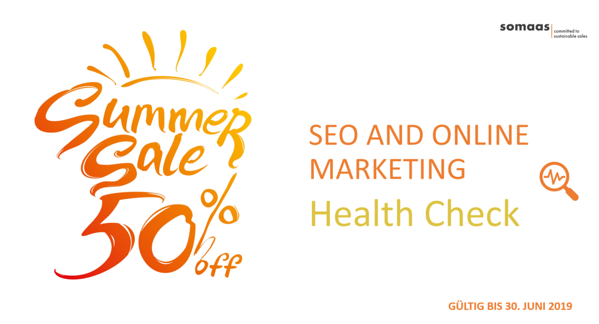 seo & online marketing health check sommer special 2019